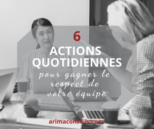 6 actions respect